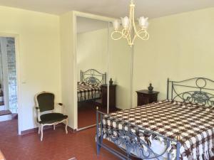 Un ou plusieurs lits dans un hébergement de l'établissement Villa Eria
