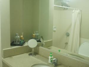 A bathroom at Condominium Unit