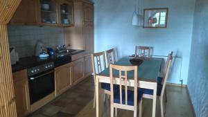 Küche/Küchenzeile in der Unterkunft Schweizerblick