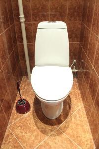A bathroom at Apartment Nice on Sadovaya-Triumfalnaya
