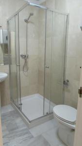 A bathroom at Home4Holidays