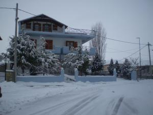Hotel Limni im Winter