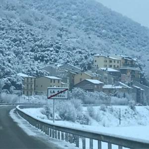 Entre els pirineus a l'hivern