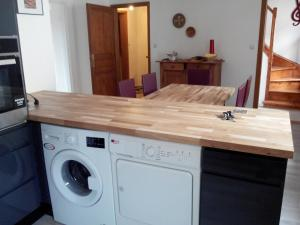 Salle de bains dans l'établissement Gite duplex du vignoble Alsace