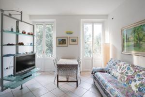 Część wypoczynkowa w obiekcie Appartamento della Piazza