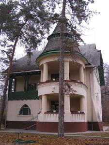 Budova, v ktorej sa vila nachádza