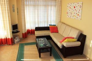 A seating area at Apartamento Langosteira