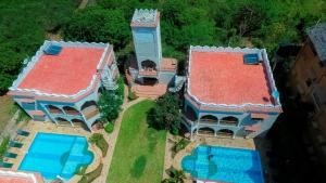 A bird's-eye view of The Diani Pearl