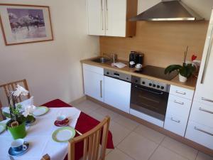 Küche/Küchenzeile in der Unterkunft Sonnhof