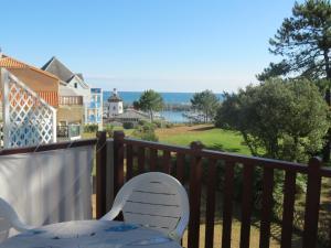 Ein Balkon oder eine Terrasse in der Unterkunft La maison de Marie