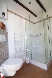 Ein Badezimmer in der Unterkunft Ferienhaus Wildblick