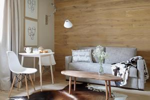 Zona de estar de Artesa Suites&SPA