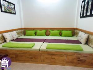 A seating area at Gac Nho Homestay