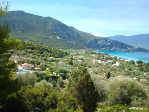 A bird's-eye view of Holiday Apartment in Psatha Bay - Vilia Attica