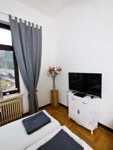 TV/Unterhaltungsangebot in der Unterkunft Ferienwohnungen an der Lahn