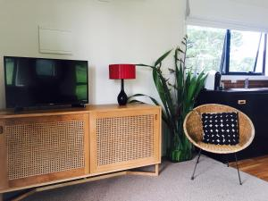 A television and/or entertainment center at Twamley Farm