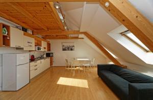 Küche/Küchenzeile in der Unterkunft Apartments Safarikova