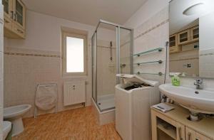 Ein Badezimmer in der Unterkunft Apartments Safarikova