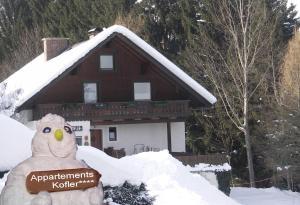 Appartements Kofler im Winter