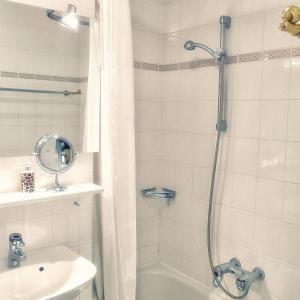 Ein Badezimmer in der Unterkunft Hofwiese