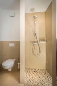 Ein Badezimmer in der Unterkunft Hanse-City-Boardinghouse