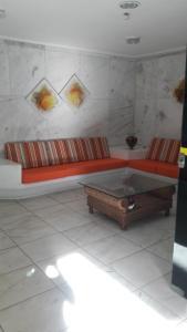 A seating area at Marisia