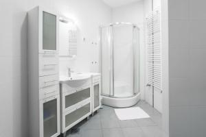 A bathroom at Apartments Zagreb Point - Vinogradska