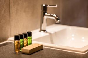 A bathroom at Alpbach Lodge Chalet Superior