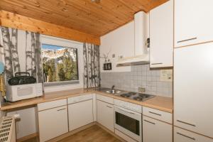 A kitchen or kitchenette at Almhaus Blümel