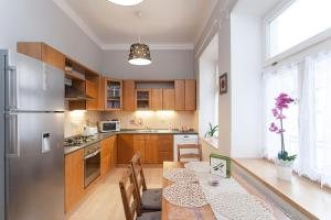 A kitchen or kitchenette at Zuzana Apartment