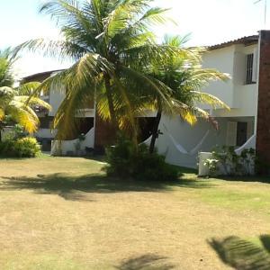 Um jardim em Casa Ilha de Itamaracá