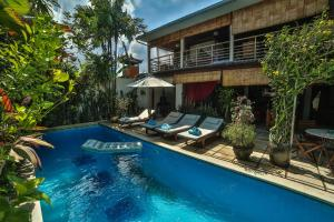 The swimming pool at or near d'Amour Villa Bali