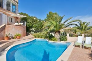 The swimming pool at or near Sea Views Villa with Pool Port Andratx