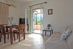 Χώρος καθιστικού στο Echinades Resort
