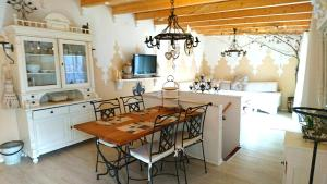 利布勒加斯特豪斯酒店廚房或簡易廚房