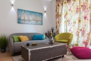 A seating area at Bepo Luxury Apartments