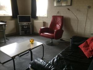 En sittgrupp på Vlinderhuis 21B