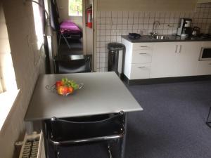 Küche/Küchenzeile in der Unterkunft Vlinderhuis 21C
