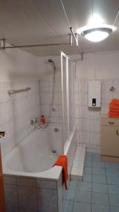 Ein Badezimmer in der Unterkunft Ferienwohnung In der Kehr