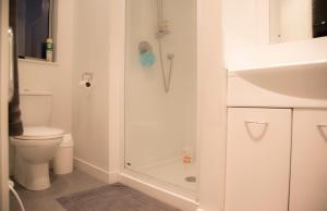 A bathroom at Ohakune-Matata