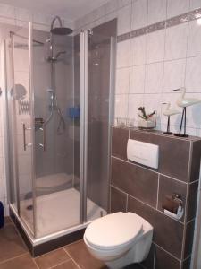 Ein Badezimmer in der Unterkunft Ferienwohnung Konen