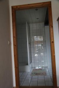 Ein Badezimmer in der Unterkunft Ferienwohnung Weidner