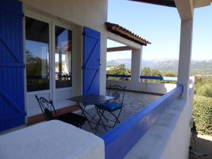 A balcony or terrace at Casa Di Cavalone