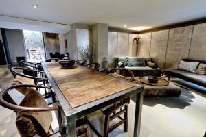 Kuchnia lub aneks kuchenny w obiekcie Vicolo del Cinque Terrace Apartment