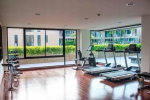 The fitness centre and/or fitness facilities at Pixels Condo at Panwa Beach