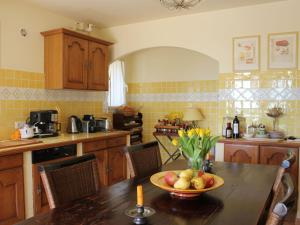 A kitchen or kitchenette at Luxury Villa in Flayosc with Hill Swimming Pool