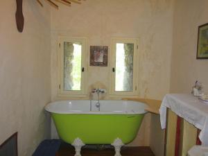 Salle de bains dans l'établissement Le Serre Des Granges-Plus