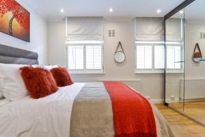 Ein Bett oder Betten in einem Zimmer der Unterkunft Drayton