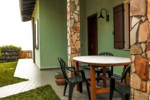 A porch or other outdoor area at Casa Mezzema