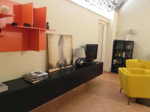 TV/Unterhaltungsangebot in der Unterkunft La Casa di Andrea